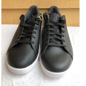 Puma Shoes - NEW No Box PUMA Men s Leather Smash Perf Black 5e376d881
